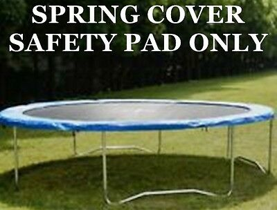 """Standard Blue Safety Pad ( Spring Cover ) for 10 ft Trampoline 11""""  Wide"""