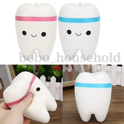 Cutie Creative Smile Bright Tooth Slow Rise Scented Squishy Toy Gift