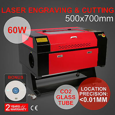 60W Co2 Laser Engraving Cutting Machine Dsp Control Carving Tool Cutter Printer