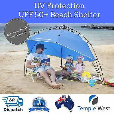 NEW Smart Shade Shelter Umbrella Tent UPF 50+ Sun Protection Beach Camping Quick