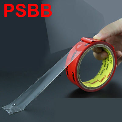 PSBB 3M Transparent Strong waterproof High temperature double-sided tape 0.5mm