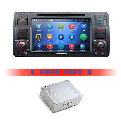 """Android 5.1.1 7"""" Car DVD Player GPS & DAB+ Digital Audio Broadcast for BMW E46"""