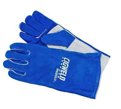 Welding Gloves Leather Tig Large Mig Cigweld Glove Premium Full Weld Protection