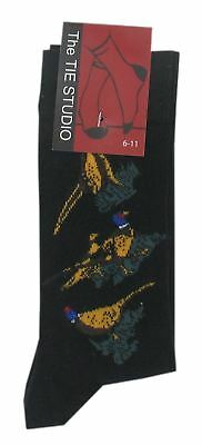 Adult Cotton Premium Quality Socks Birthday Novelty Gift - Pheasant socks