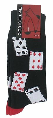 Adult Cotton Premium Quality Socks Birthday Novelty Gift - Gambling Socks