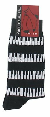 Adult Cotton Premium Quality Socks Birthday Novelty Gift - Keyboard Socks
