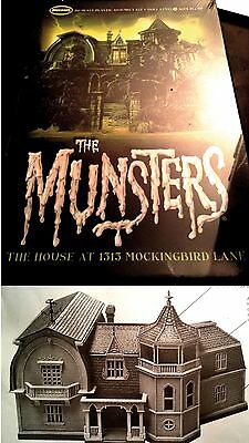 SERIE TV The MUNSTERS Mansion The House1:87 MODEL KIT Moebius