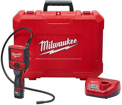 Milwaukee 12-Volt Lithium-Ion Cordless M-SPECTOR FLEX 3 ft Inspection Camera Kit