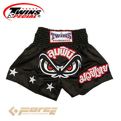 TWINS Special Pro Muay Thai Kick Boxing Shorts Pants No Fear/Lumpinee TBS-02