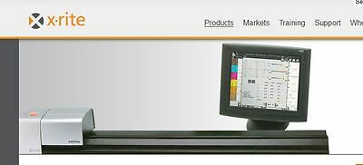 """Xrite Intellitrax40""""full Turnkey System Once Used Withtouchscreenquick-Delivery"""