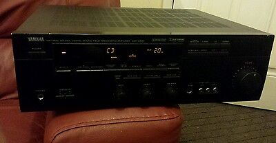 Yamaha Dsp-A590  Natural Sound Digital Sound Field Processing Amplifier