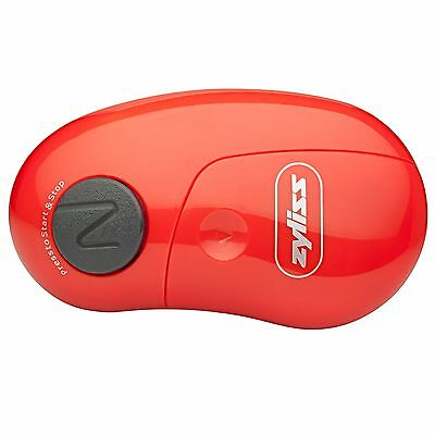 ZYLISS EasiCan Electric Can Opener, Red