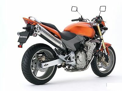 Manaule Officina Honda Hornet Cb 600F My 2005-2006 Workshop Manual Cd E-Mail