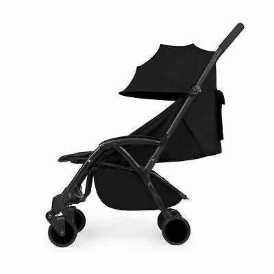 Ickle Bubba Aurora In Pitch Black – Lightweight Baby Stroller, Pram & Buggy