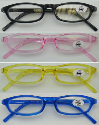 L188 Small Frame Style/Easy to Carry/Jelly Colour Simple Plastic Reading Glasses