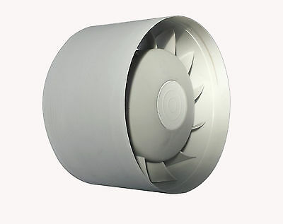In Line High Temperature Duct Extractor Fan 98 mm; 12 Volts
