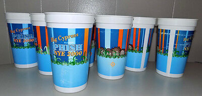 Off the Reservation! Phish Big Cypress NYE 2000 beer cups New Years Eve Florida