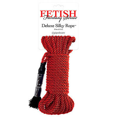 Corda Costrittiva Fetish Fantasy Series Deluxe Silky Rope Rossa Sexy Shop Toy
