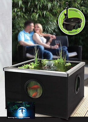 Blagdon Affinity Fish Pond Outdoor Coservatory Patio Aquarium Pool Water Feature