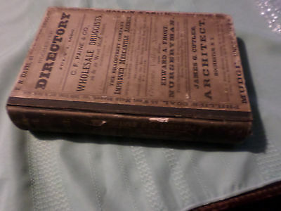 Original 1880 Rochester Ny City & Business City Directory Residents Listed