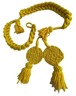 French  Nepolenic Rachets Wool Shako Cords Excellent Quality Yellow  Colour