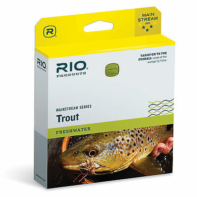 RIO MainStream Trout Floating Fly Line WF5