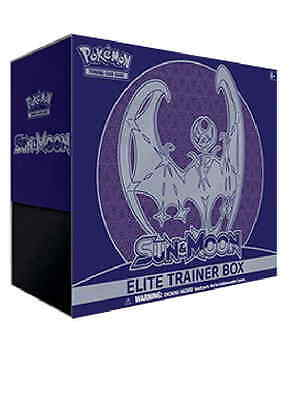 Elite Trainer Box Moon (Lunala  (ING) NUOVO POKEMON LIMITED EDITION