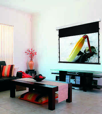 Screenline 6ft 4:3 Motorised Tab Tensioned Projection Screen