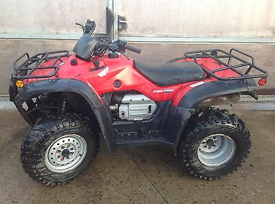 HONDA QUAD TRX 350 4x4 ATV FOURTRAX FARM