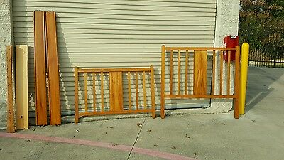 Antique Full Size Solid Wood Bed(((LOCAL PICK UP ONLY)))