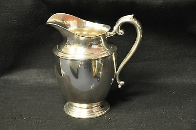 "Preisner Sterling Silver 9"" Water Pitcher P.S.C.O. #120 - 626 Grams!"