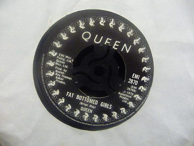 """Jukebox Classic Queen """" Fat Bottomed Girls/bicycle Race  """"  Ex Cond."""