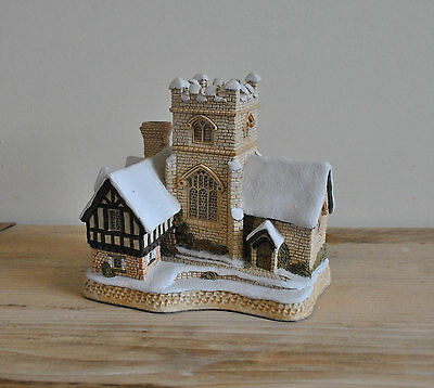 David Winter Cottages - Christmas Carol special edition - Church - 1989 - Boxed