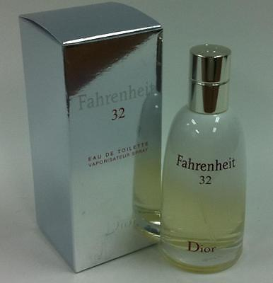 Fahrenheit 32 by Dior 50ml Edt Spray Men Box a Without cellphine