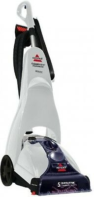 Carpet Cleaning Machine BISSELL Cleanview Power Brush Cleaner White And Blue