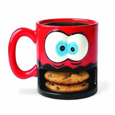 BigMouth BMMU-CM Crazy for Cookies Coffee Mug, Red
