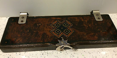 Art Deco Meakers London Inlaid Marquetry ACME Tie Press C1920's