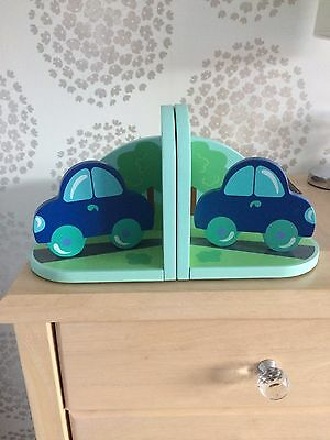 Car Book Ends