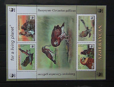 Azerbaijan 2011 Eagles Miniature Sheet MNH