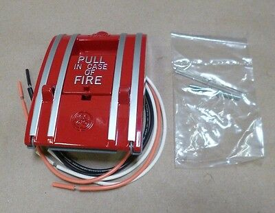 Edwards Ge 270A-Dpo Fire Alarm Pull Down Station Red 0.5/1.5A 125/250V