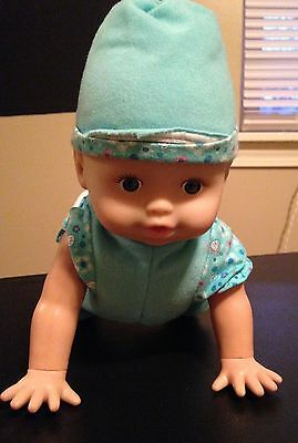 Crawling Babbling Baby Doll fisher Price