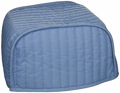 Ritz 08010 Quilted Four Slice Toaster Cover, Light Blue
