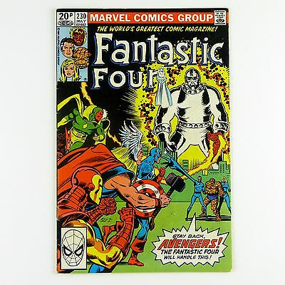 Fantastic Four #230 (FN- | 5.5, pence copy)