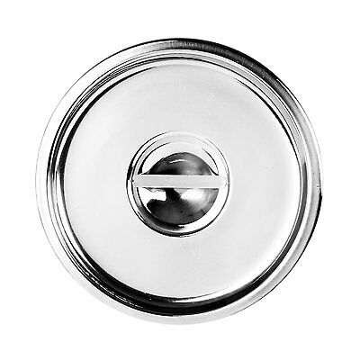 Excellante 6-Quart Stainless Steel Bain Marie Cover