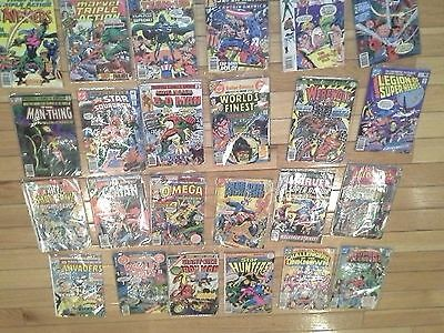 24 Mixed Lot Estate Find Vintage Comics Including 1st Apppearance of 3D Man