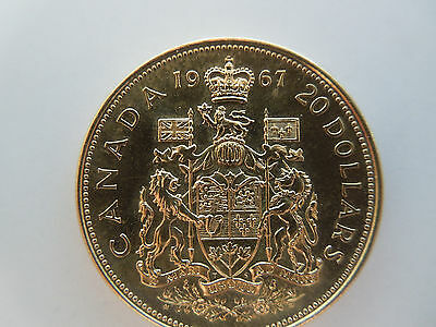 Canadian 1867 1967 Centennial $20 Dollar dated 1967