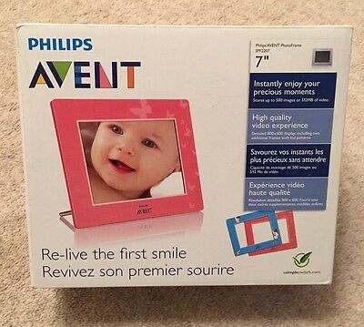 "Philips Avent 7"" PhotoFrame SPF2207"