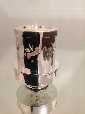 NEW Musical Angel Rotating Candle Holder