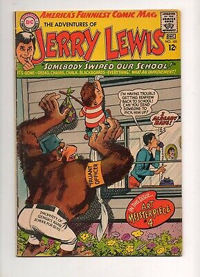 Adventures of Jerry Lewis #103 SIGNED NEAL ADAMS, ARTIST 1967 Fn- 5.5 RARE SIGNA