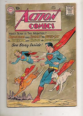 Action Comics #266 SUPERGIRL & STREAKY vs SUPERMAN & KRYPTO! 1960 G/VG 3.0 252